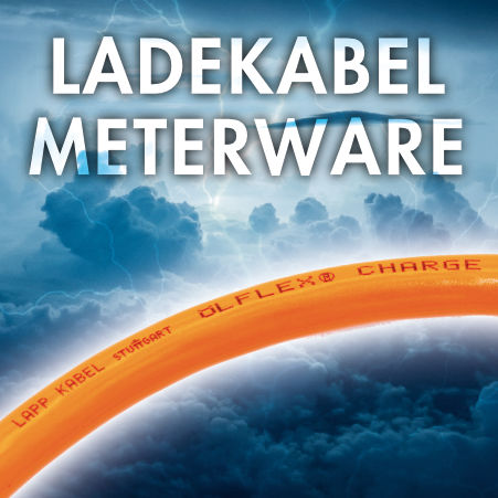 Ladekabel Typ 1 & 2 - Meterware