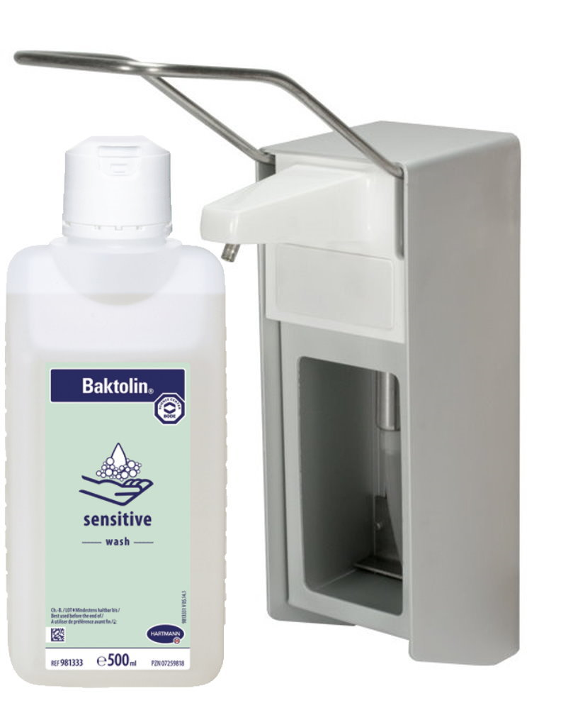 Medi Inn Eurospender Aluminium 8 ml Langarmhebel + Bode ...