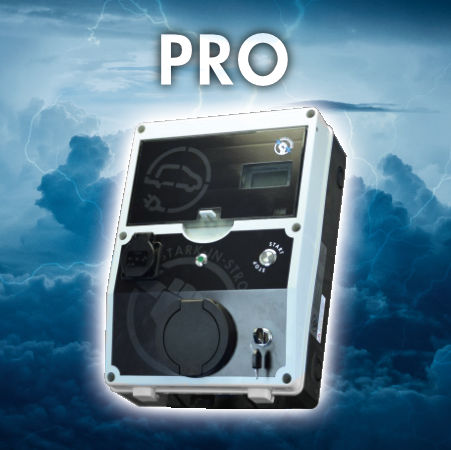 Wallbox PRO - mit einstellbarem Ladestrom