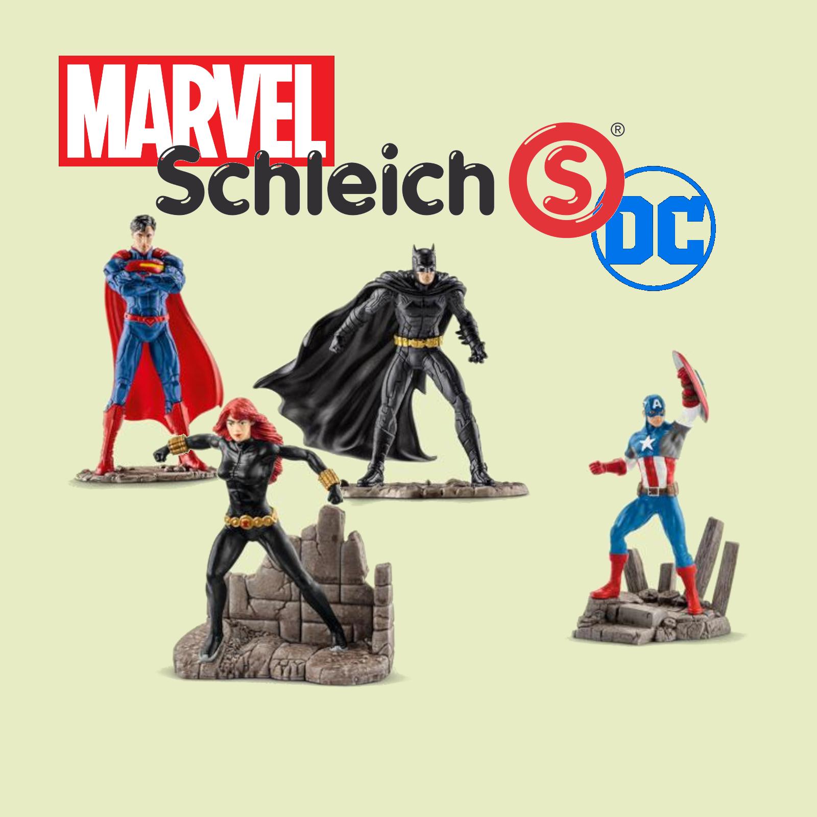 Schleich - Marvel & DC