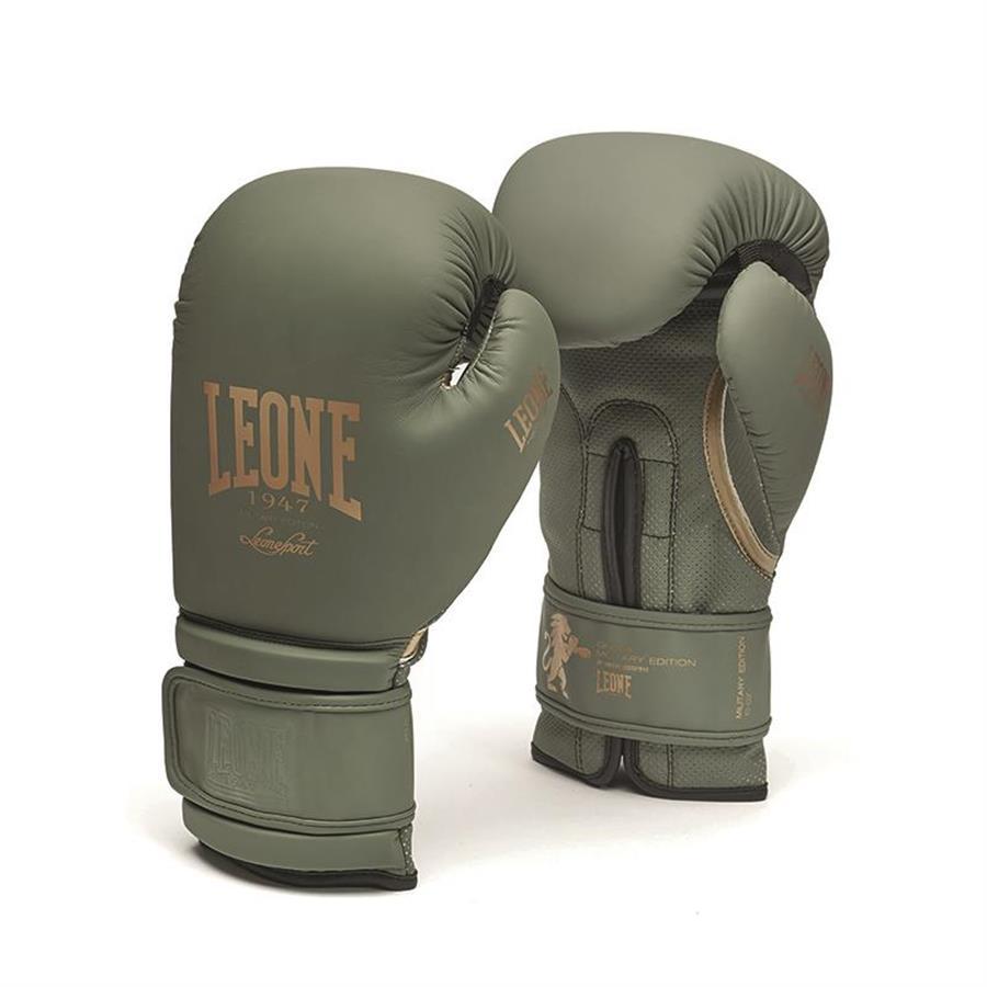 Leone 1947 Boxhandschuhe Military Edition Thai Boxen Kickboxen 10 12 14 16 Unzen