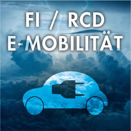 FI/RCD Typ B - Allstromsensitiv - 0,03A / 30 mA - Elektromobilität