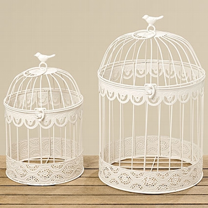 deko vogelk fig cremeweiss dekoration shabby chic vintage look vogel k fig ebay. Black Bedroom Furniture Sets. Home Design Ideas