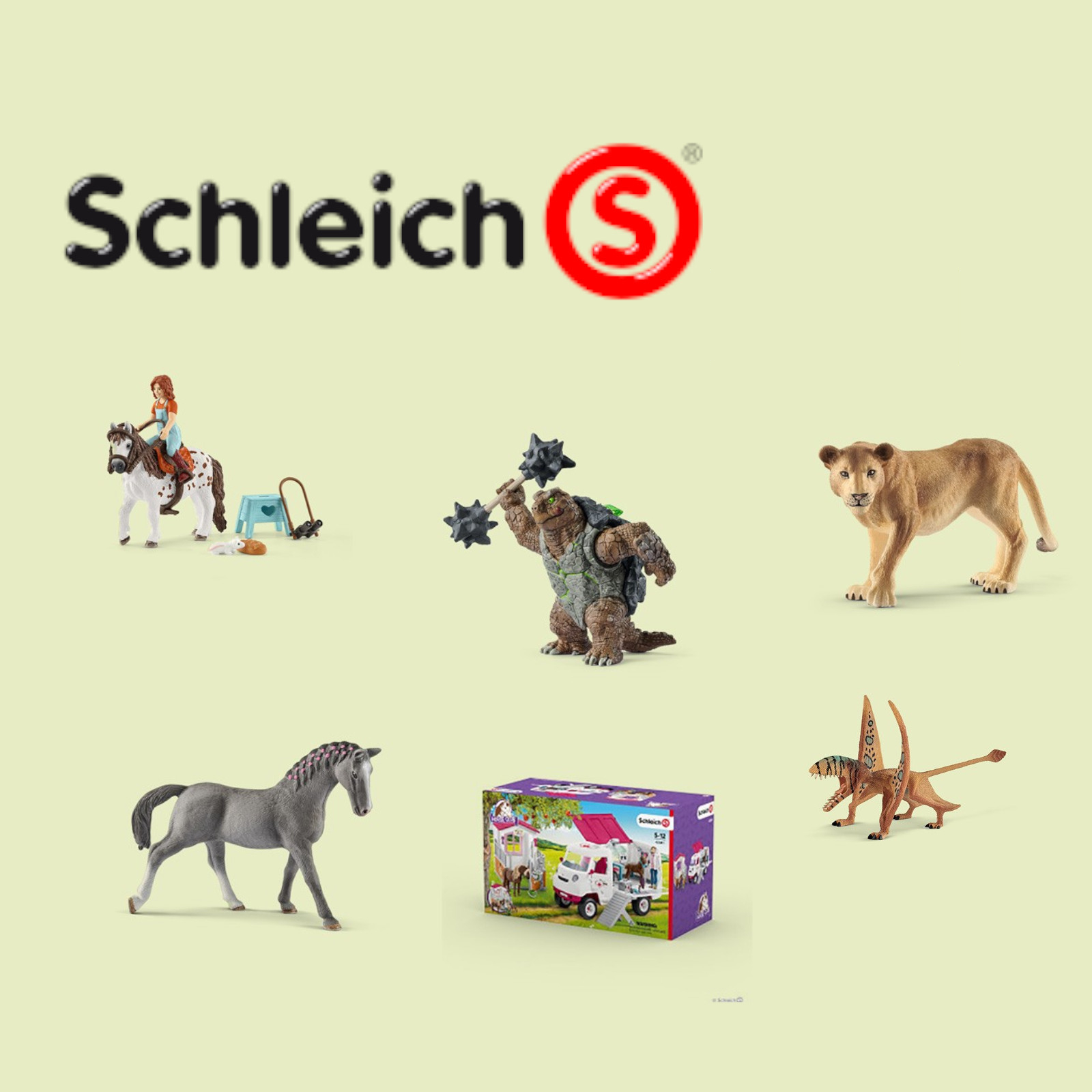 Current Schleich programm