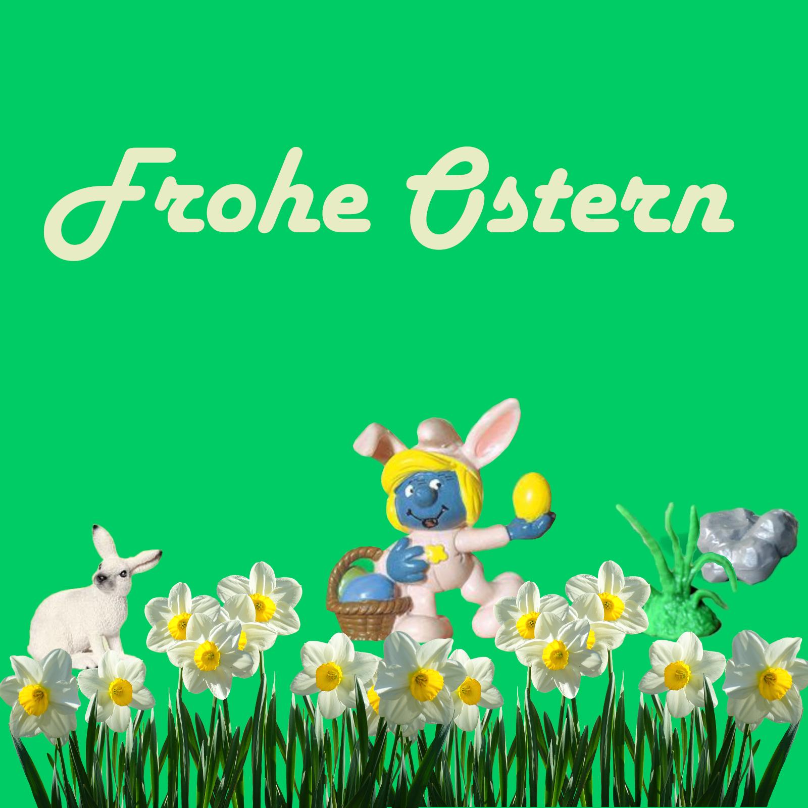 Schlümpfe zu Ostern