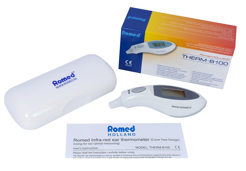 Messgeräte & Tests Romed Fieberthermometer Digital Fiebermesser 1 Stück Herausragende Eigenschaften
