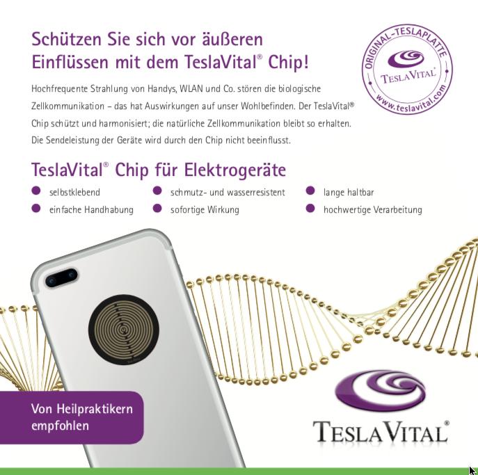 TeslaVital® Chip