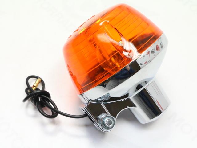 Honda CB 350 400 Four F F2 G Blinker Set 4 x Blinklicht US Repro Chrom winker