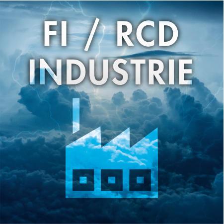 FI/RCD Typ B - Allstromsensitiv - 0,3A / 300 mA - Industrie