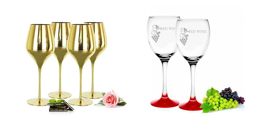 Wein- und Sektgläser