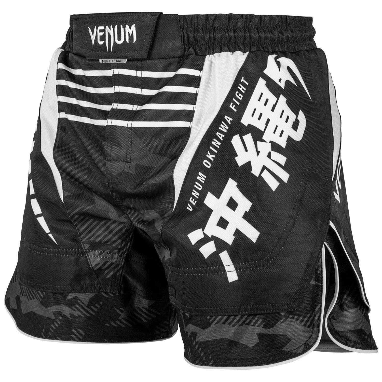 Details zu Venum MMA Fight Shorts Okinawa 2.0 SchwarzWeiß Kampfsport Hose Herren S M L XL