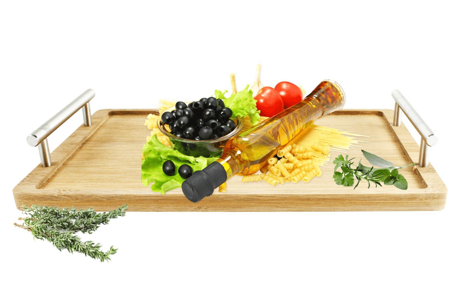 Betttablett Serviertablett Frühstückstablett Holztablett Tablett Servierplatte